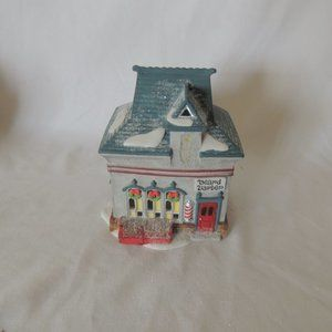 "DEPT 56- North Pole Series- ""Beard Barber Shop"""
